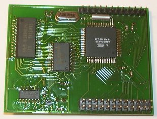 Ethernet PCB Bottom View